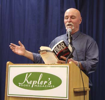 Paul McHugh Reading at Keplers.